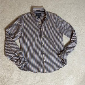 Abercrombie and Fitch Long sleeve muscle button up